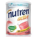Nutren Active Morango Suplemento Alimentar Lata 400g