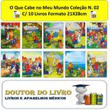 O Que Cabe No Meu Mundo Valores Coleção N. 02 C/ 10 Livros - Bom bom books