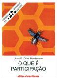 O que e participaçao - coleçao primeiros passos 95 - Brasiliense