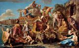 O Triunfo de Veneza - Batoni  Tela Baby Para Quadro - Santhatela