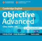 Objective advanced class audio cds - 4th ed - Cambridge audio visual  book teacher