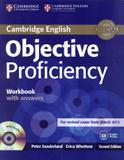 Objective proficiency wb with answers and audio cd - 2nd ed - Cambridge university