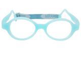 Óculos De Grau Infantil Miraflex Silicone 5 A 7 Anos Baby Lux 2 Tam.40 - Miraflex original