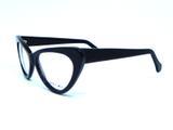 Oculos de grau Majestic Cat Eye RX Preto - Majestic - private label