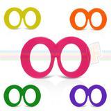 Óculos Zoião Colorido Sem Lente 10 unidades - Festabox