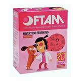Oftan Protetor Ocular Divertido Feminino C/20