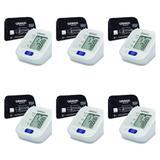 Omron Auto Hem-7122 Monitor de Pressão Arterial de Braço (Kit C/06)
