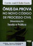Ônus da Prova no Novo Código de Processo Civil - Juruá