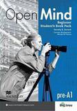 Open mind beginner - students book pack - Macmillan do brasil