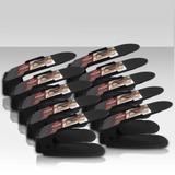 Organizador de calçados Rack Preto ajustável 10 peças - Clink