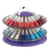 Organizador Manicure E Esmalteria Smaltbell Twist 3355 Roxo - Dompel