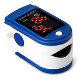 Oximetro Digital Medidor de Saturação de Oxigênio no Sangue Multifunções Premium - Ebai