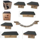 P l a y g r o u n d  para gatos brinquedo toca - Pet in box