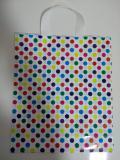 Pacote com 40 sacolas plastica em poá colorido 30x36 - Izaembala
