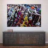 Painel Adesivo de Parede - Bicicletas - 416pnp - Allodi