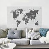 Painel Adesivo Mapa Mundi - Tacolado