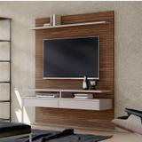 Painel Bancada Smart Para TVs até 60 Polegadas 2 Gavetas 2 Prateleiras Casa D Dakota/Gianduia