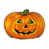Painel Cartaz de Papel Abóbora Halloween Paper Fest - Festabox