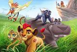 Painel de Festa A Guarda Do Leão 01 - Colormyhome