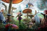 Painel de Festa Alice no País das Maravilhas 04 - Colormyhome