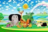 Painel de Festa Baby TV 01 - Colormyhome