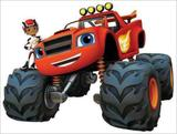 Painel de Festa Blaze And The Monster Machines 03 - Colormyhome
