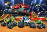 Painel de Festa Blaze And The Monster Machines 04 - Colormyhome