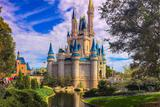 Painel de Festa Castelo Disney 02 - Colormyhome