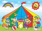 Painel de Festa Circo Picadeiro 03 - Colormyhome