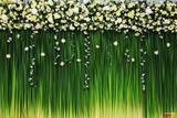 Painel de Festa Cortina de Flores 05 - Colormyhome