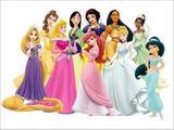 Painel de Festa Disney Princesas 08 - Colormyhome