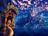 Painel de Festa Enrolados Rapunzel 05 - Colormyhome
