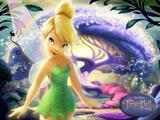 Painel de Festa Fada Tinker Bell 05 - Colormyhome