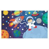 Painel de festa Infantil Astronauta 1.50m X 1.00m - Wrio
