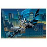 Painel de festa Infantil Batman Predios 1.50m X 1.00m - Wrio