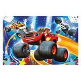 Painel de festa Infantil Blaze Monster Machine  3.00m X 1.70m - Wrio