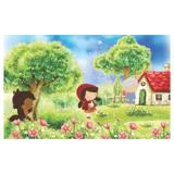 Painel de festa Infantil  Chapeuzinho Vermelho  2.50m X 1.50m - Wrio