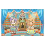 Painel de festa Infantil Circo Picadeiro  1.50m X 1.00m - Wrio