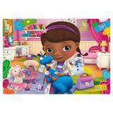 Painel de festa Infantil Doutora Brinquedo 2.50m X 1.50m - Wrio
