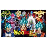 Painel de festa Infantil Dragon Ball Z 3.00m X 1.70m - Wrio