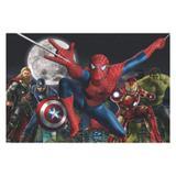 Painel de festa Infantil Homem Aranha 1.50m X 1.00m - Wrio