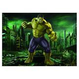 Painel de festa Infantil Hulk  3.00m X 1.70m - Wrio