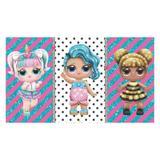 Painel de festa Infantil lol Glitter  3.00m X 1.70m - Wrio