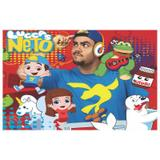 Painel de festa Infantil Luccas Neto 1.50m X 1.00m - Wrio