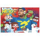 Painel de festa Infantil Luccas Neto  2.00m X 1.40m - Wrio