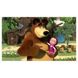 Painel de festa Infantil Masha e o Urso 1.80m X 1.30m - Wrio