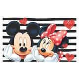 Painel de festa Infantil Mickey e Minnie  2.00m X 1.40m - Wrio