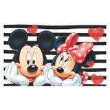 Painel de festa Infantil Mickey e Minnie  3.00m X 1.70m - Wrio