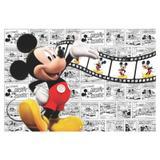 Painel de festa Infantil  Mickey Gibi 3.00m X 1.70m - Wrio