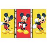 Painel de festa Infantil Mickey Trio  1.80m X 1.30m - Wrio